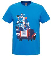 The North Face NSE Series Tee Shirt Men - Freizeitshirt - bomber blue - Gr.L