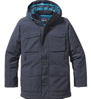 Patagonia Thunder Cloud Down Parka Men - Wasserdichter Daunenparka - smoulder blue SMDB - Gr.M