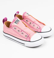 "Converse ""Chuck Taylor All Star Simple Slip"" rosafarbene Sneakers mit Klettverschluss"