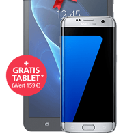 Samsung Galaxy S7 edge + GRATIS Tablet mit o2 Blue All-in XL