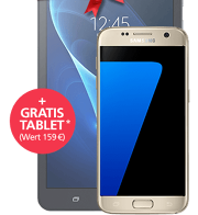 Samsung Galaxy S7 + GRATIS Tablet mit o2 Blue All-in M Prof.
