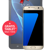 Samsung Galaxy S7 edge + GRATIS Tablet mit o2 Blue All-in M