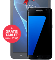 Samsung Galaxy S7 edge + GRATIS Tablet mit o2 Blue Data L