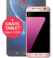 Samsung Galaxy S7 + GRATIS Tablet mit o2 Blue All-in M