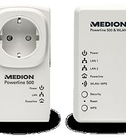 Powerline WLAN Adapter Set MEDION® LIFE® P85150 (MD 90222)