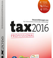 WISO tax Professional 2016 Vollversion