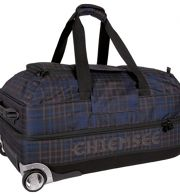 Chiemsee Sport 15 Premium Travel Bag Large 2-Rollen Reisetasche 73 cm check black
