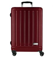 CheckIn Halifax 4-Rollen Trolley 78 cm carbon rot