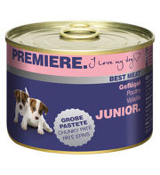 PREMIERE Best Meat Junior Geflügel 6x185g